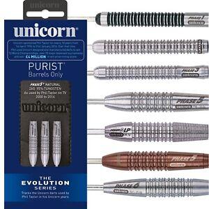 Unicorn Evolution Darts 24g 25g 26g grams Tungsten Phil Power Taylor Steel Tip