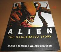ALIEN 1 movie MARVEL adaptation mini Comic Book Walt Simonson Archie Goodwin