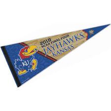 Kansas Jayhawks 2018 Final Four Pennant Flag