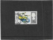 """GB 1966 BIRDS """"BLUE TIT WITH DOUBLE LEGS VARIETY"""" SG697 USED WITH NORMAL"""