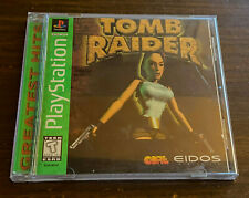 Tomb Raider Ps1 Green Label Complete Playstation Tested Fast Ship Greatest Hits
