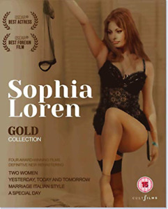 Sophia Loren Gold Boxset [Blu-Ray DVD NEW
