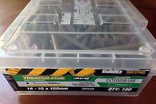 Box of 100 Buildex Treated Pine Bugle Head Batten Screws, 14-10 X100mm (5014)