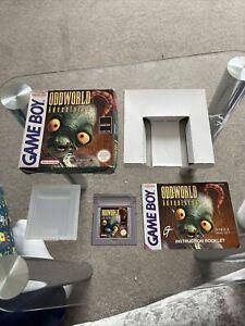 Oddworld: adventures-nintendo game boy-complete-boxed-pal/eur