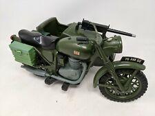 VINTAGE ACTION MAN PALITOY DESPATCH MOTORCYCLE & SIDECAR, MOTORBIKE ORIGINAL