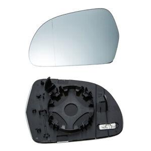 Mirror Glass for Audi A3 A4 A5 A6 A8 S5 S6 S8 Q3 Driver Side View Left 2008-2016