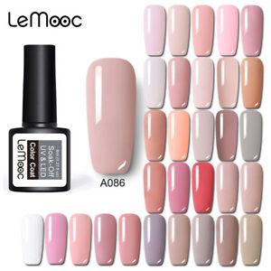230 assic Gel Nail Polish Soak off UV Gel Salon Party Show Pink Colors Design