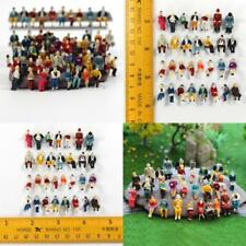60 PCS Miniature People Figures Sitting P8711 HO scale 1:87 All Seated Passenger