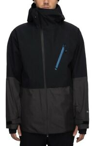 686 GLCR Gore-Tex Hydra Thermagraph Jacket  Men's - Medium / Charcoal Colorblock