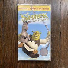 Shrek Edición Especial Vhs Spanish