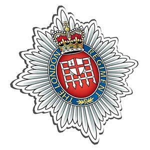 THE LONDON REGIMENT STICKER - BRITISH ARMY - LONDONS