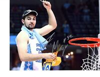 Luke Maye signed autographed basketball photo 8x10 North Carolina UNC CHAMPS!