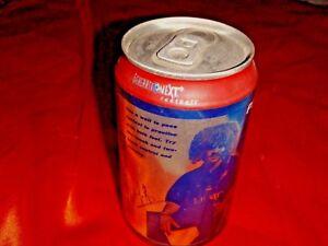 PEPSI® Unopened & Empty Aluminum Can depicting Carlos Valderrama, Nice!