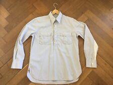 Men's Paul Smith Mainline Vintage L/S Maglia Blu Viola Bianco controllato Taglia L