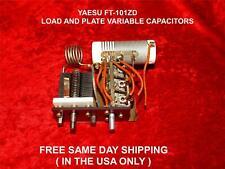 Yaesu FT-101ZD Carica & PIASTRA condensatori variabili GRATIS SPEDIZIONE IN GIORNATA