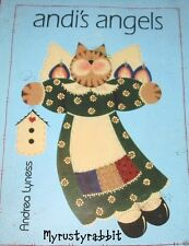 Andi's Angels Decorative Tole Painting Book  ~ By Andrea Lyness Christmas