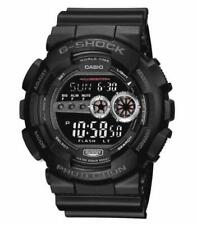 Casio G-SHOCK GD100-1BCR Black Resin X-Large Super LED Digital Quartz Men's Watc