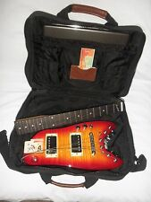 Strobel Rambler Professional Electric Travel Guitar (Cherry Sunburst)