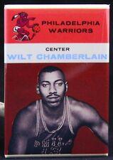 """Wilt Chamberlain Basketball Card 2"""" X 3"""" Fridge Magnet. Philadelphia NBA"""