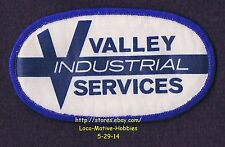 LMH PATCH Badge  VALLEY INDUSTRIAL SERVICES Blasting Cleaning Coatings used 4.4""