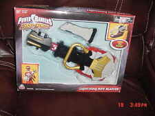 POWER RANGER NINJA STORM LIGHTNING RIFF BLASTER WEAPON 2003 NEW