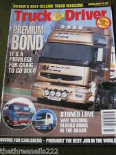 TRUCK & DRIVER - DRIVING FOR CARLSBERG - MARCH 2004