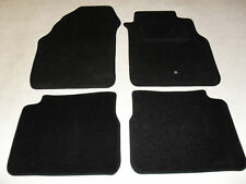 Nissan Almera 2000-06 Fully Tailored Deluxe Car Mats in Black