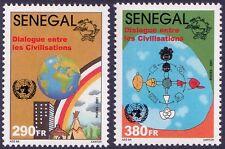 2002 Dialogue among civilizations - Senegal - set 2v