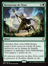MTG Magic BFZ - Nissa's Renewal/Renouveau de Nissa, French/VF