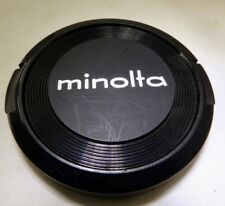 Minolta 55mm FRONT CAP Lens Rokkor MC MD (damaged) AS IS  Free Shipping USA
