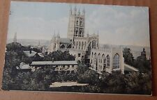 Postcard Gloucester Cathedral Tucks Aquagraph 2003 posted 1925