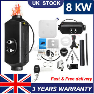 Diesel Heater 12V Caravan Camper Van Air Motorhome 8KW Night Parking Heating
