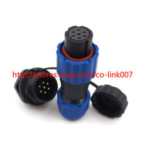 SD13 7pin Waterproof Connector, IP67 High-voltage Solar panel Connector 250V