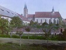 General View of Corvey, Germany, Magic Lantern Glass Slide