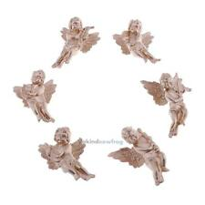 6 Kinds/Bag Angel Shaped Ornament Wings Christmas Tree Xmas Pendants Home Decor