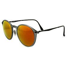 Ray-Ban Sunglasses 4224 650/6Q Grey & Silver Red Mirror