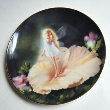 Flower Girl: The Enchanted Garden Fairy Limited Edition Plate Danbury Mint E3434