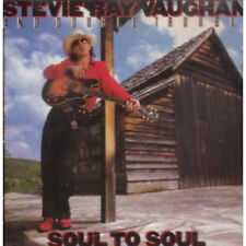 Stevie Ray Vaughan And Double Trouble ‎– Soul To Soul - CD - Good Condition