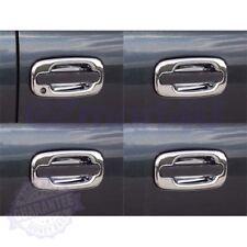 Fit 2002 2003 2004 2005 2006 Cadillac Escalade Chrome Door Handle Bowls