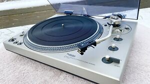 Technics SL-1300 Turntable, Shure M95ED, New Caps/Interconnects, Beautiful!!