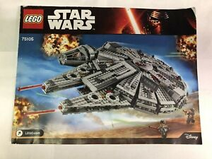 LEGO Star Wars Millennium Falcon (75105):parts and instructions