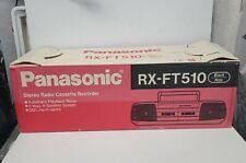 Panasonic RX-FT510 Boombox Ghetto Blaster Cassette Player AM/FM Radio NEW IN BOX