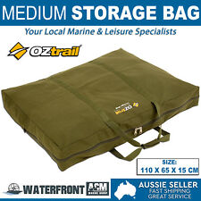 OZtrail Furniture Bag Medium Brown Canvas Travel Camping Chair Storage Tote Bags