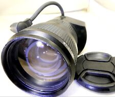 TV Zoom Lens 12.5-100mm f1.8 C mount with 8 pin cable