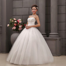 Vintage Women's Lace Bridal Dresses Gown Wedding Dress Custom Advanced  Manual