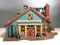 New England Village Series  Jay Hudson Stone Works Hand Painted Porcelain Made