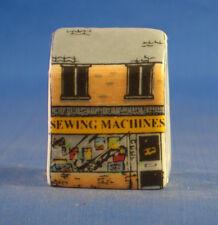 Birchcroft Miniature House Shaped Thimble -- Sewing Machine Shop