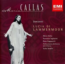 DONIZETTI : LUCIA DI LAMMERMOOR - CALLAS, SERAFIN / CD - TOP-ZUSTAND