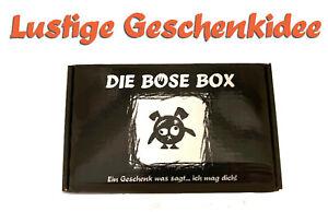 Gemeine und Lustige Geschenkidee für Frauen und Männer - Die Böse Box