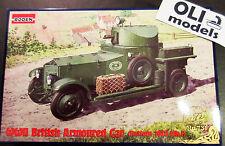 1/72 WWII British Rolls-Royce Armoured Car Pattern 1920 Mk.I - Roden 731
